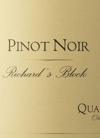 Quails' Gate Pinot Noir Richard's Blocktext