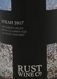 Rust Wine Co Lazy River Vineyard Syrah