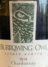 Burrowing Owl Chardonnaytext