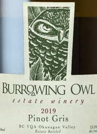 Burrowing Owl Pinot Gristext