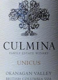 Culmina Family Estate Unicus Gruner Veltliner