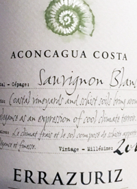 Errazuriz Aconcagua Costa Single Vineyard Sauvignon Blanctext