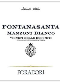 Foradori Fontanasanta Manzoni Biancotext