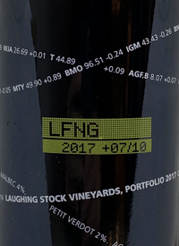 Laughing Stock Vineyards Portfolio +07/10