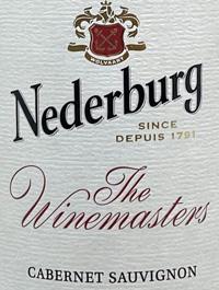 Nederburg Cabernet Sauvignon Winemaster's Reservetext