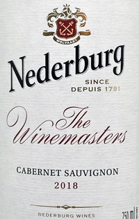 Nederburg Cabernet Sauvignon The Winemaster's Reservetext
