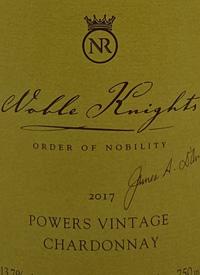 Noble Ridge Noble Knights Powers Vintage Reserve Chardonnaytext
