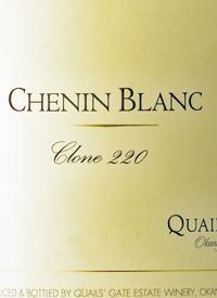 Quails' Gate Chenin Blanc Clone 220text
