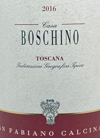 San Fabiano Calcinaia Casa Boschino Organictext