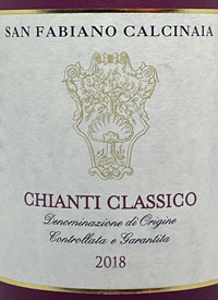 San Fabiano Calcinaia Chianti Classicotext