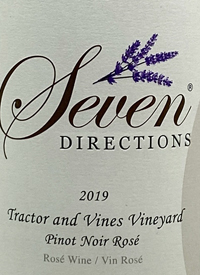 Seven Directions Tractor and Vines Vineyard Pinot Noir Rosétext