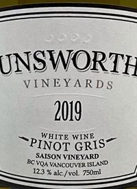 Unsworth Vineyards Pinot Gris Saison Vineyardstext