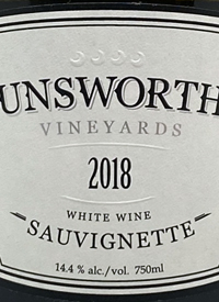 Unsworth Vineyards Sauvignette