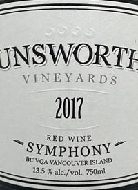 Unsworth Vineyards Symphonytext