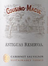 Cousiño Macul Antiguas Reservas Cabernet Sauvignontext