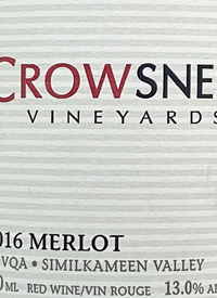 Crowsnest Family Reserve Merlot