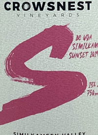 Crowsnest Similkameen Sunsettext