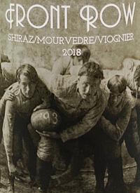 Front Row Shiraz/Mourvedre/Viogniertext