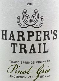 Harper's Trail Pinot Gris Thadd Springs Vineyardtext