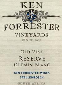 Ken Forrester Old Vine Reserve Chenin Blanctext