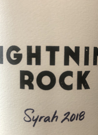 Lightning Rock Syrah