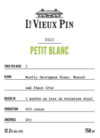 Le Vieux Pin Petit Blanctext