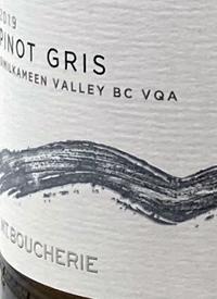 Mt. Boucherie Pinot  Gristext