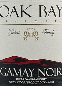 Oak Bay Vineyard Gamay Noirtext