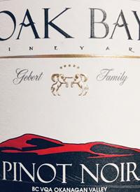 Oak Bay Vineyard Pinot Noirtext