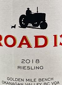 Road 13 Rieslingtext