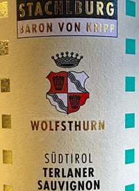 Stachlburg Baron Von Kripp Terlaner Sauvignontext