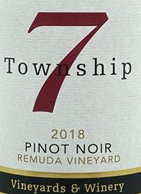 Township 7 Pinot Noir Remuda Vineyard