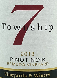 Township 7 Pinot Noir Remuda Vineyardtext