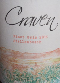 Craven Wines Pinot Gristext