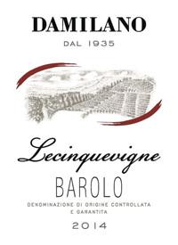 Damilano Lecinquevigne Barolotext