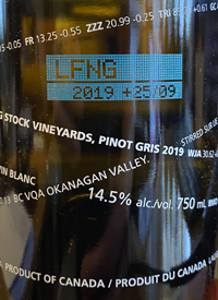 Laughing Stock Vineyards Pinot Noir +28/09