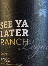 See Ya Later Ranch Legacy Rosétext