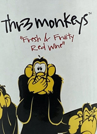 Thr3 Monkeys Tempranillo