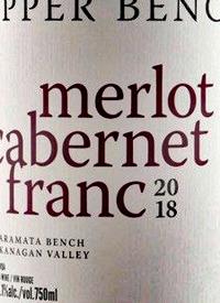 Upper Bench Merlot Cabernet Franctext
