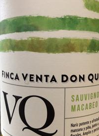 VQ Finca Venta Don Quijote Sauvignon-Blanc Macabeotext