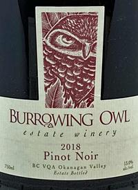 Burrowing Owl Pinot Noirtext