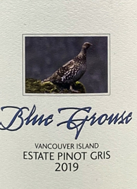 Blue Grouse Estate Pinot Gristext