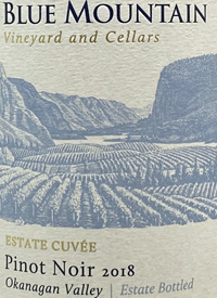 Blue Mountain Estate Cuvée Pinot Noir
