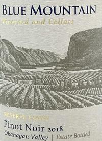 Blue Mountain Reserve Cuvée Pinot Noir