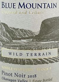 Blue Mountain Single Vineyard Block 9 Wild Terrain Pinot Noirtext