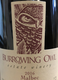 Burrowing Owl Malbectext