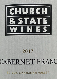 Church and State Signature Cabernet Franctext