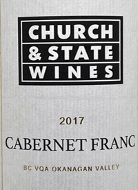 Church & State Wines Cabernet Franctext