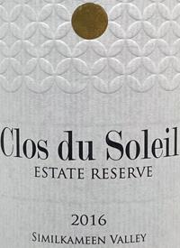 Clos du Soleil Estate Reserve Red