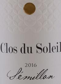 Clos du Soleil Winemaker's Series Sémillontext